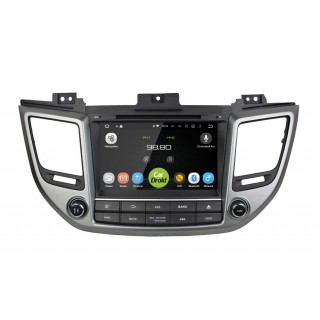 Штатная магнитола CarDroid RD-2012D для Hyundai ix35, Tucson 2016 (Android 9.0) DSP