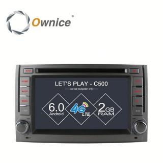 Штатная магнитола Ownice C500 S6782G для Huyndai Starex, H1 (Android 6.0)