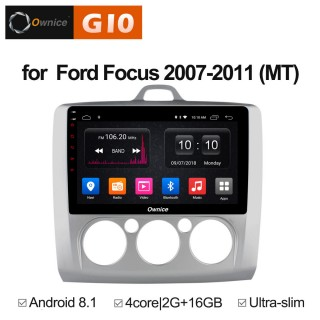 Штатная магнитола Ownice G10 S9201E-M для Ford Focus 2, S-max (Android 8.1) кондиционер