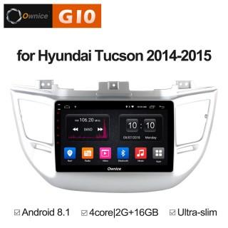 Штатная магнитола Ownice G10 S9705E для Hyundai Tucson 2016 (Android 8.1)