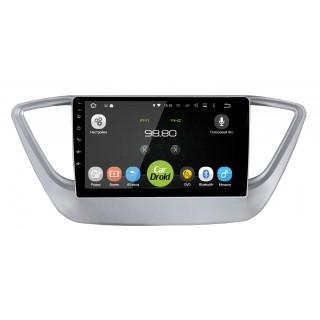 Штатная магнитола CarDroid RD-2011F для Hyundai Solaris, 2017-