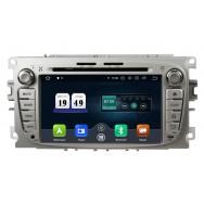 Штатная магнитола CarDroid RD-1702S для Ford Focus 2, Mondeo (Android 10)