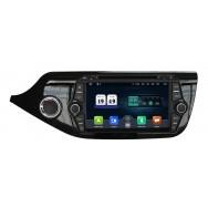 Штатная магнитола CarDroid RD-2306 для KIA Ceed 2, 2012 (Android 10)