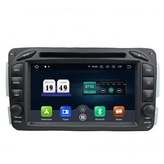 Штатная магнитола CarDroid RD-2501 для Mercedes Benz W203 W208 W209 W463 W639 Vito Viano Vaneo (Android 10)