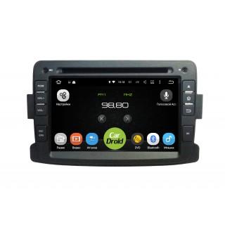 Штатная магнитола CarDroid RD-3001D для Renault Duster, Sandero, Logan 2 (Android 9.0) DSP