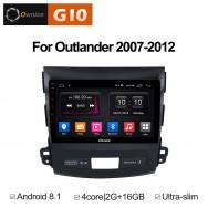 Штатная магнитола Ownice G10 S9636E для Mitsubishi Outlander XL (Android 8.1)